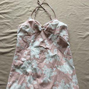 Hawaiian Style form fitting dress